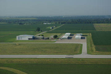 of airports in illinois